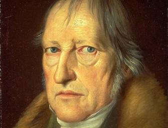Абсолютный идеализм Георга Вильгельма Фридриха Гегеля