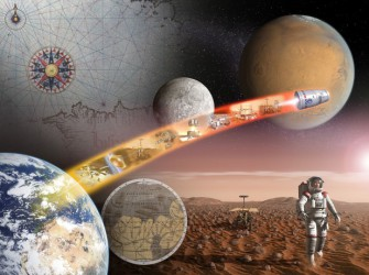 Вперед в космос! Приглашаем на лекцию и экскурсию в интеракториум «Марс-Тефо»