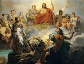 Олимпийская религия в ее развитии