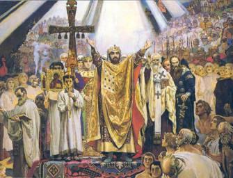 Киевская Русь при князе Владимире Святославиче