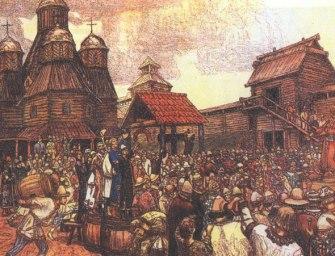 Новгородская вечевая республика