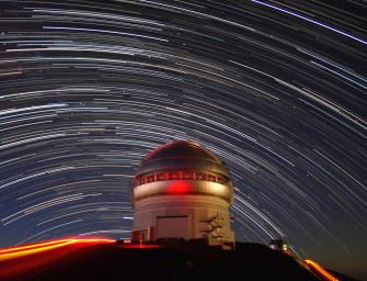 С телескопом — к звёздам