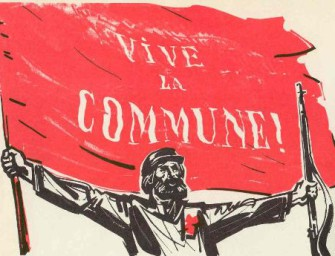 Анархисты в Первом Интернационале и в Парижской Коммуне.