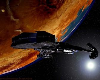 Освоение Солнечной системы и межзвездные полёты в научно-фантастических произведениях.