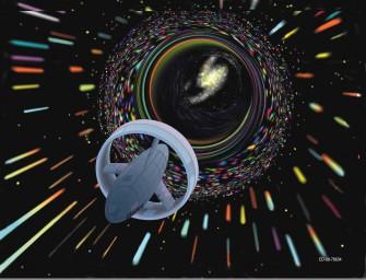 Черные дыры, кротовые норы, теория бифуркации и проблемы времени в научно-фантастических произведениях.
