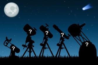 Практическое занятие «Определение параметров телескопа»