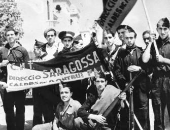 Анархисты в Великой Испанской Революции 1936-1939 годов.