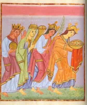 Архитектура и искусство Оттонов. Формирование зрелого средневекового искусства.