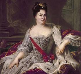 Россия после Петра. Екатерина I на престоле