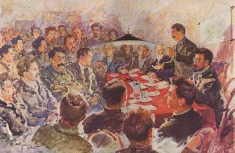 Борьба за власть в руководстве большевиков 1919-1923гг. Партии внутри партии