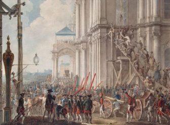 Дворцовый переворот 1762 года и восшествие на престол Екатерины II