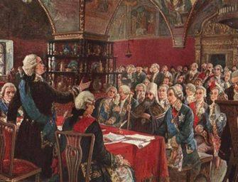 «Я на пользу моей империи обобрала…Монтескье»: Уложенная комиссия и екатерининский «Наказ»