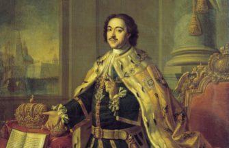 «Юность Петра» (1689-1700)