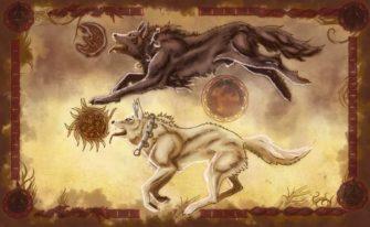 Волк в мифологии индоевропейцев