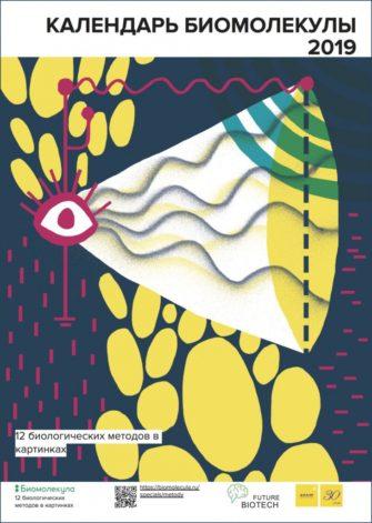 Календарь «Биомолекула. 12 биологических методов в картинках.»