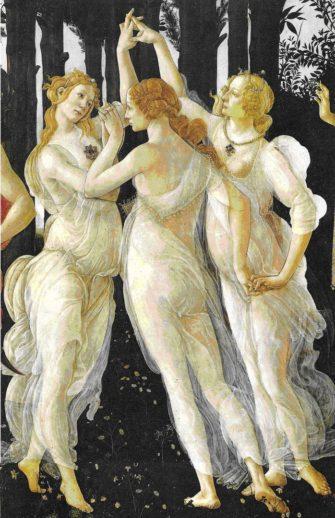 СПб «Танец трех Граций: приключения одного изобразительного мотива от античности до наших дней»