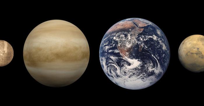 Планеты земной группы (Общая астрономия)