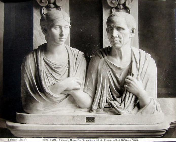 Brogi,_Carlo_(1850-1925)_-_n._8305_-_Roma_-_Vaticano_-_Museo_Pio_Clementino_-_Ritratti_romani_detti_di_Catone_e_Porzia
